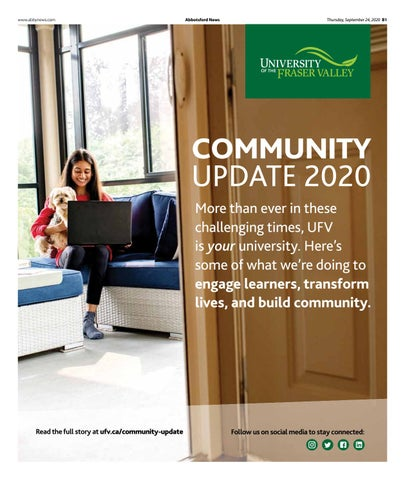 UFV Community Update 2020