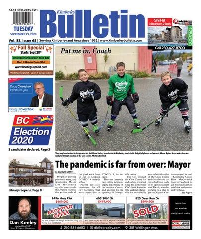 Kimberley Daily Bulletin, September 29, 2020