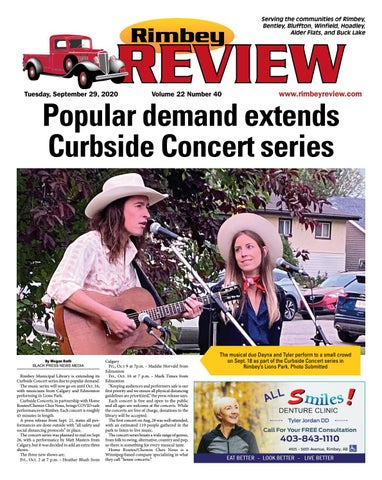 Rimbey Review, September 29, 2020