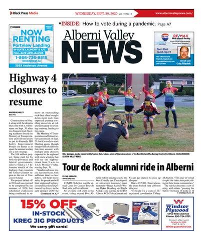 Alberni Valley News, September 30, 2020