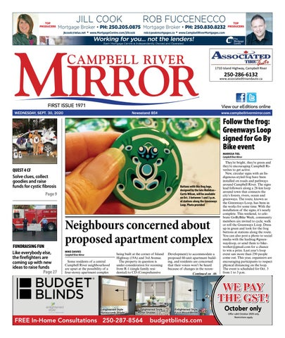 Campbell River Mirror, September 30, 2020