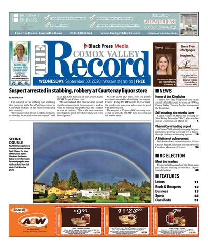 Comox Valley Record, September 30, 2020