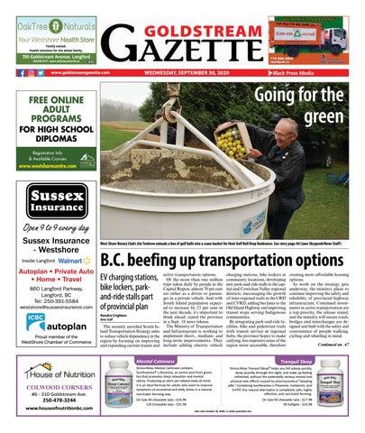 Goldstream News Gazette, September 30, 2020