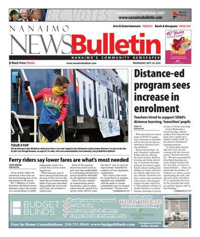 Nanaimo News Bulletin, September 30, 2020