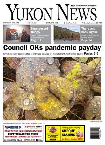Yukon News, September 30, 2020