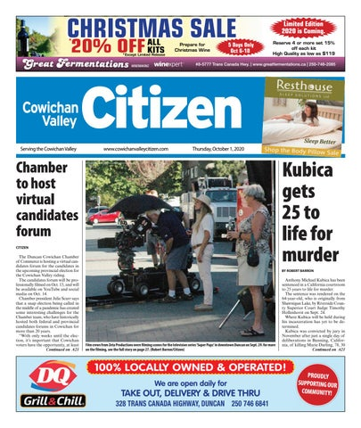 Cowichan Valley Citizen, October 1, 2020