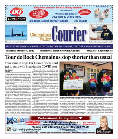 Chemainus Valley Courier, October 1, 2020
