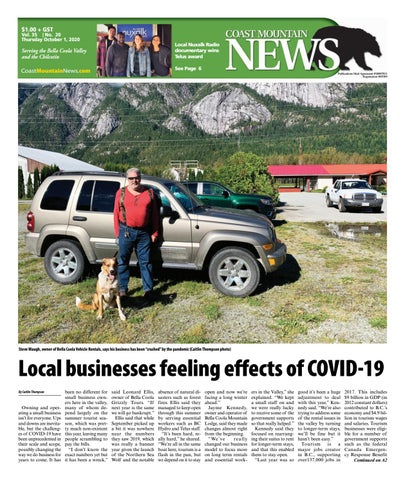 Coast Mountain News, October 1, 2020
