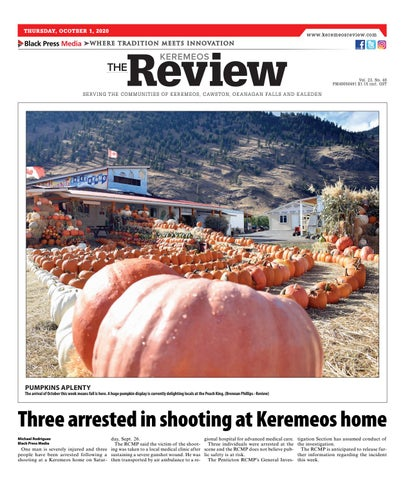 Keremeos Review, October 1, 2020