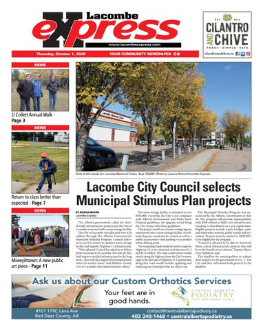 Lacombe Express, October 1, 2020
