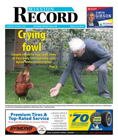 Mission City Record, October 1, 2020