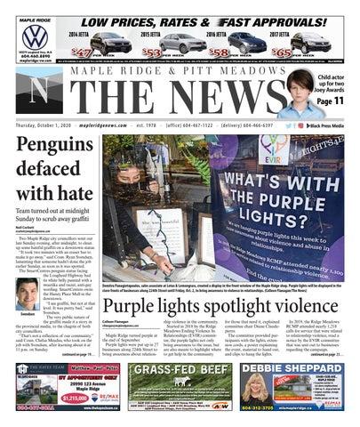 Maple Ridge News, October 1, 2020