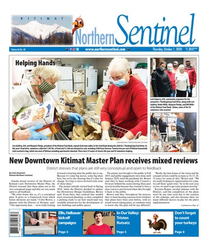 Kitimat Northern Sentinel/Northern Connector, October 1, 2020