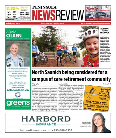 Peninsula News Review, October 1, 2020