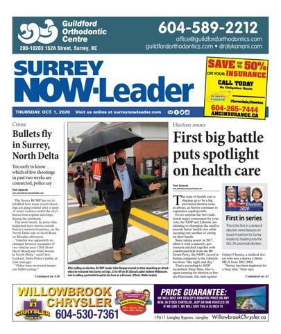 Surrey Now Leader, October 1, 2020