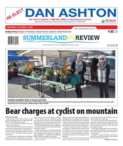 Summerland Review, October 1, 2020