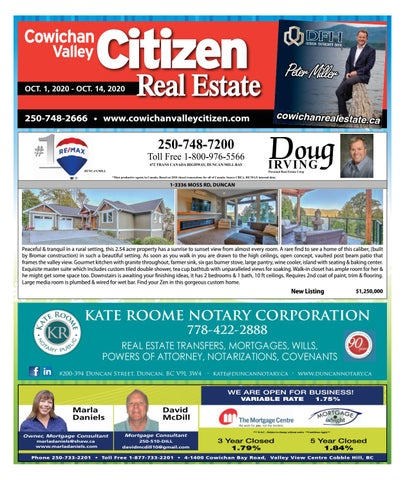 October 01, 2020 Cowichan Valley Citizen
