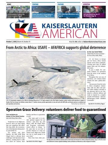 Kaiserslautern American - October 2, 2020