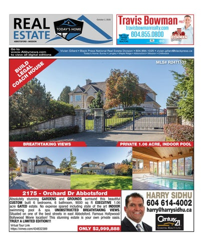 October 02, 2020 Real Estate Weekly - Abbotsford