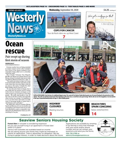 Tofino-Ucluelet Westerly News, September 30, 2020