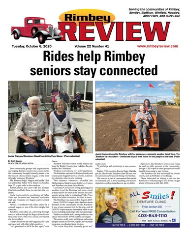 Rimbey Review, October 6, 2020