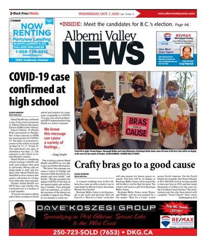 Alberni Valley News, October 7, 2020