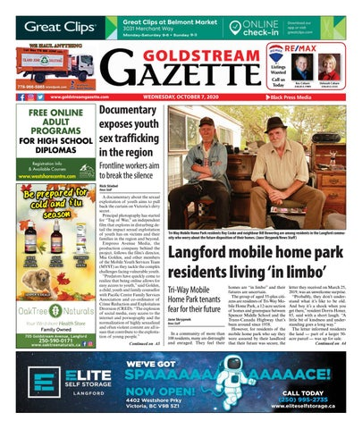 Goldstream News Gazette, October 7, 2020