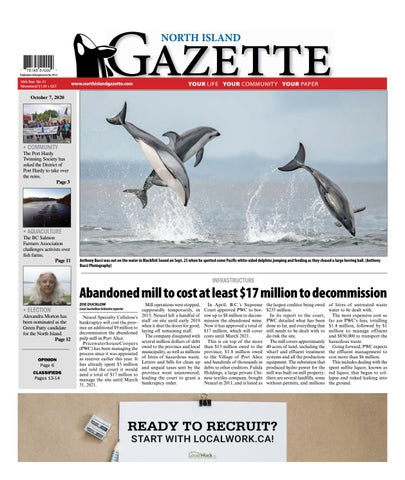 North Island Gazette, October 7, 2020