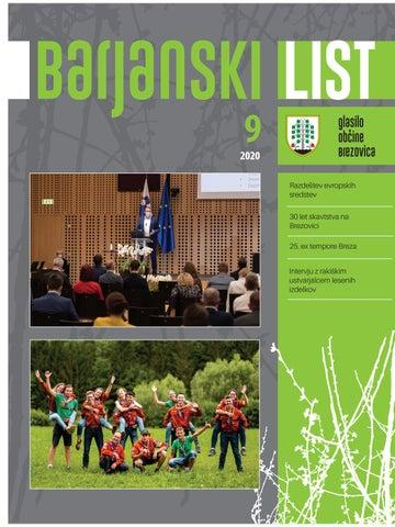 Barjanski list septmember 2020