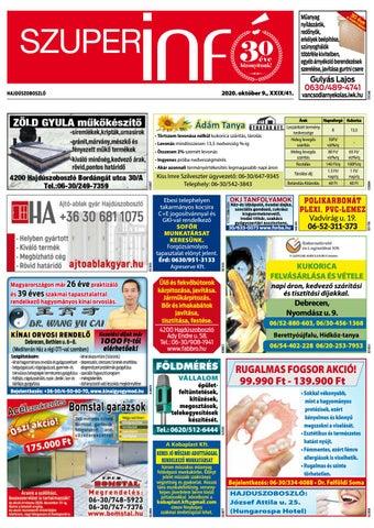Hajduszoboszlo 2020.10.09