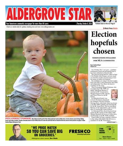 Aldergrove Star, October 8, 2020
