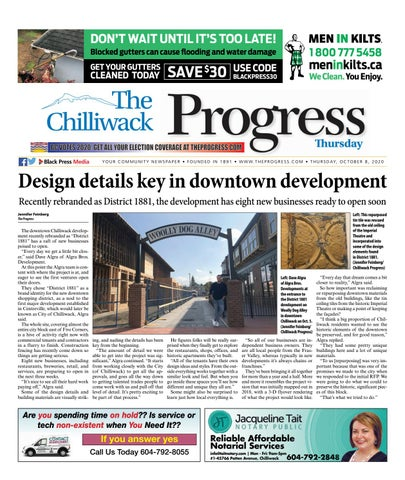 Chilliwack Progress, October 8, 2020