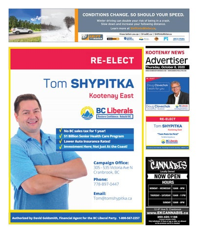 Kimberley Daily Bulletin, October 8, 2020