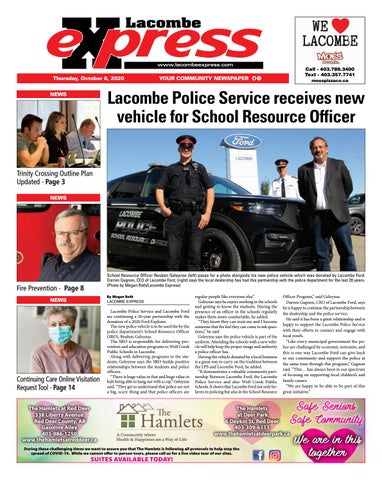 Lacombe Express, October 8, 2020