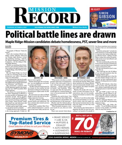 Mission City Record, October 8, 2020