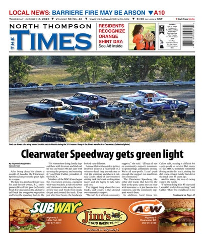 Clearwater Times, October 8, 2020