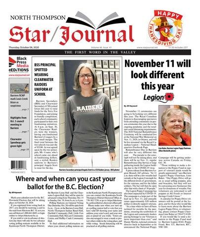 Barriere Star Journal, October 8, 2020