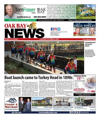 Oak Bay News, October 8, 2020