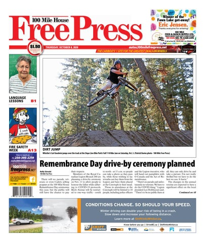 100 Mile House Free Press, October 8, 2020