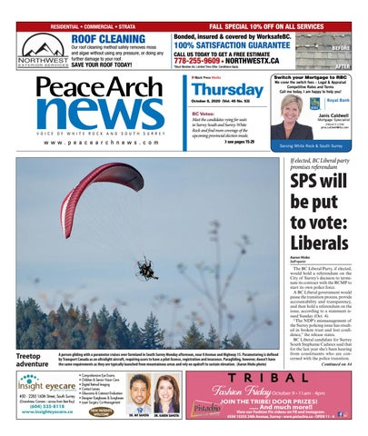 Peace Arch News, October 8, 2020