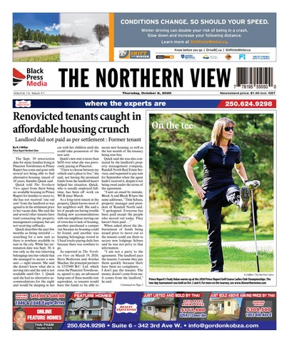 The Northern View/Northern Connector, October 8, 2020