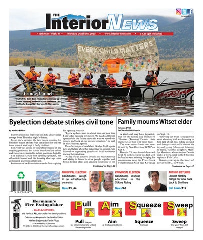 Smithers Interior News, October 8, 2020