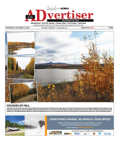 Vanderhoof Omineca Express/Stuart Nechako Advertiser, October 8, 2020