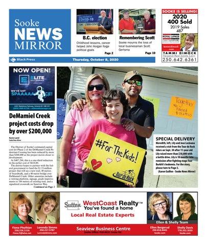 Sooke News Mirror, October 8, 2020