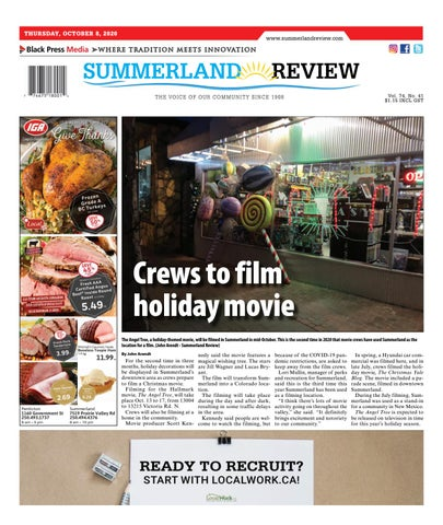 Summerland Review, October 8, 2020