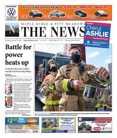 Maple Ridge News, October 8, 2020