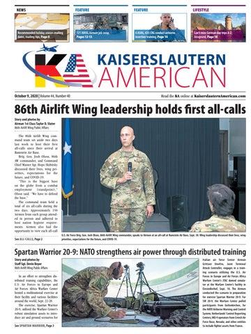 Kaiserslautern American - October 9, 2020