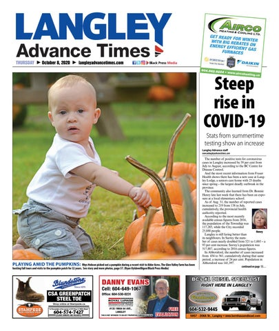 Langley Times, October 8, 2020