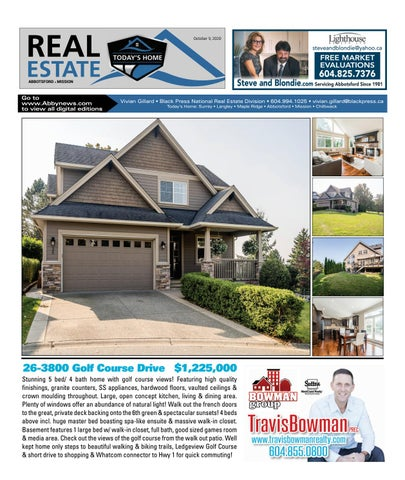 October 09, 2020 Real Estate Weekly - Abbotsford