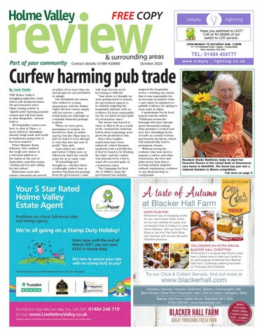 Holme Valley Review, October 2020